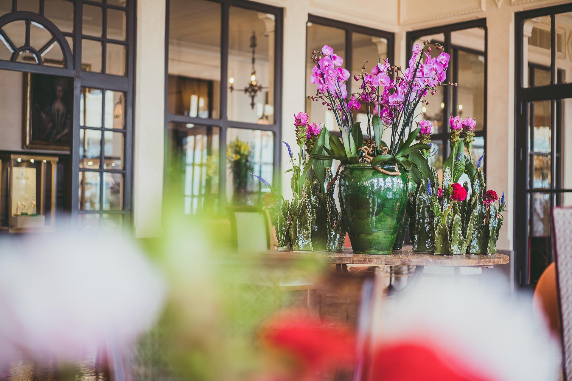 Sebastian Flowers Shop Grand Hotel Timeo Taormina Photo Stefano Casati Flower Vase